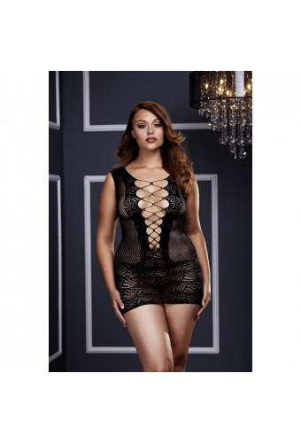 BACI MINI VESTIDO ULTRA CORSET TALLA PLUS