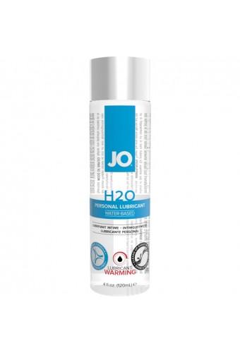 JO H20 LUBRICANTE BASE DE AGUA EFECTO CALOR 120 ML