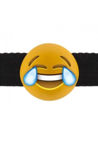 LAUGHING OUT LOUD EMOJI MORDAZA