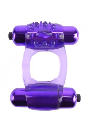 FANTASY C RING DUO VIBR SUPER RING MORADO