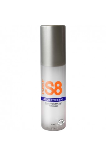 S8 LUBRICANTE ANAL BASE DE AGUA EFECTO FRiO 50ML