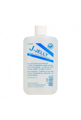 J JELLY FLASK LUBRICANTE BASE DE AGUA 240ML