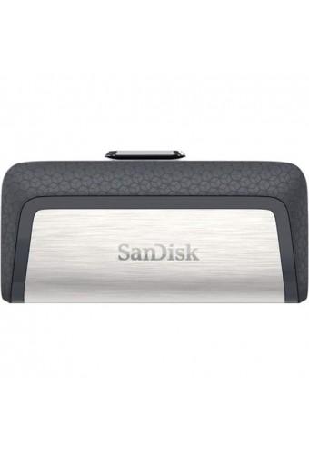 MEMORIA FLASH USB DOBLE SANDISK ULTRA DE 64 GB CON USB 31 TYPE C