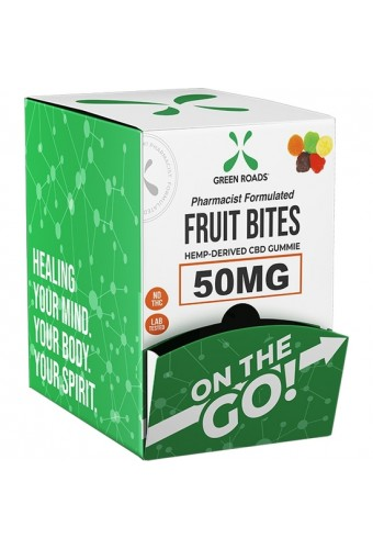 FRUIT BITES SNAKS DISPLAY OF 30 PIECES