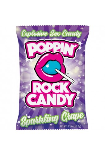Popping Rock Candy Sparkling Grape