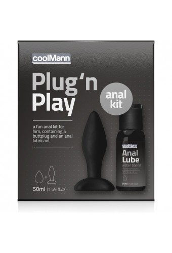 COOLMANN PLUG N PLAY DUO SET 50ML