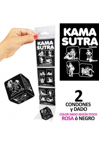 TIRA KAMASUTRA 2 CONDONES DADO HETERO