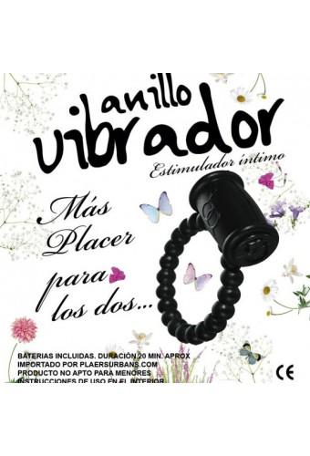 ANILLO VIBRADOR ESTIMULADOR 1 UNIDAD COLORES SURTIDOS