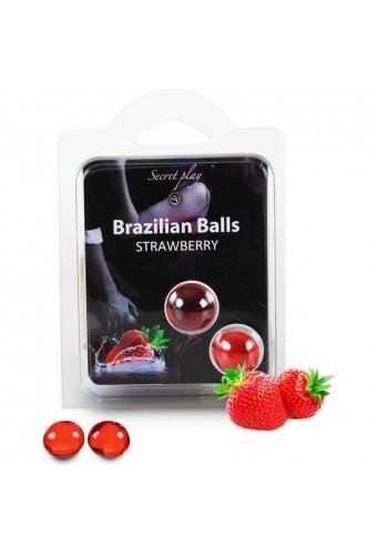 SECRET PLAY SET 2 BRAZILIAN BALLS AROMA FRESA