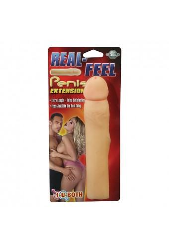 REAL FEEL PENIS FUNDA PARA EL PENE REALISTICA