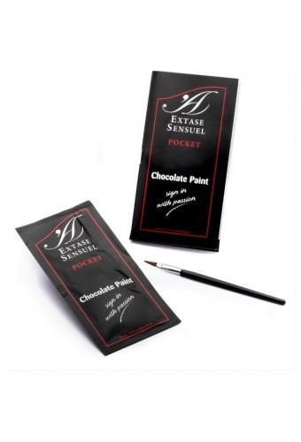 EXTASE SENSUEL PINTURA CORPORAL DE CHOCOLATE MONODOSIS